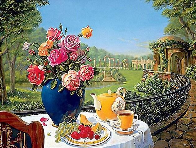 пейзажные открытки с добрым утром того наши